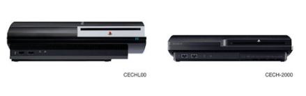 Sony PS3 vs PS3 Slim